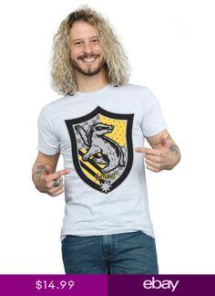 Harry Potter Jungen Hogwarts Crest Gold Ink T-Shirt
