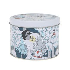 A brilliant storage tin which can be used for so many different things.You can store sugar, biscuits, sweets, and much more . Diameter: 10cm,H: 13.5cm