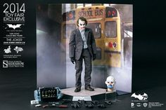 Hot Toys Joker Bank Robber 2.0 Batman DC Comics Factory Sealed in Brown Box NIB