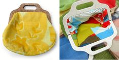 bags made from recycled blankets | THE STYLE FILES