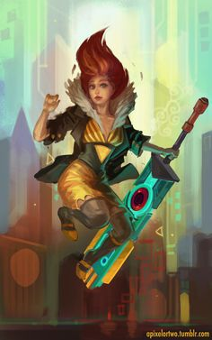 apixelortwo:  Been playing a bunch of Transistor lately. Goddamn that game is pretty.