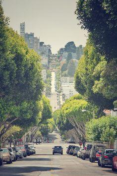 Lombard street, San Francisco CA