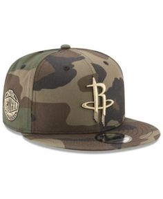 c83f3b02cba4c NEW ERA HOUSTON ROCKETS METALLIC WOODLAND 9FIFTY SNAPBACK CAP.  newera    Gorras