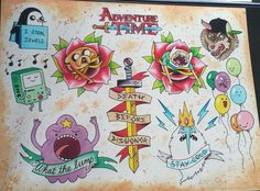 adventure time tattoo - Google Search