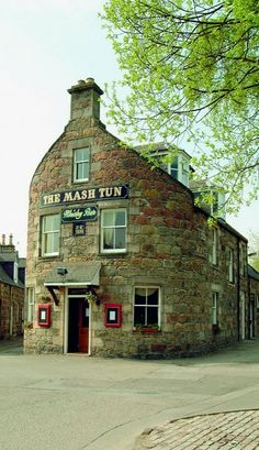 The Mash Tun in Aberlour, Scotland