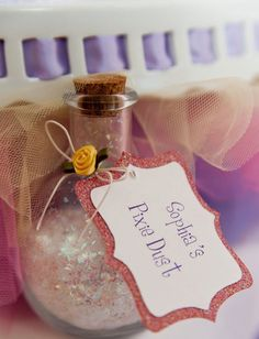 I want a Bottle that says Jenn's Pixie Dust for my room :)
