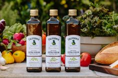 Olive Oil with some serious California style — The Dieline - Branding & Packaging Design