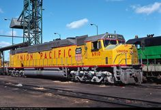 UP 6910 Union Pacific EMD at North Platte, Nebraska by Collection of Chris Zygmunt Pacific Union, Union Pacific Railroad, Location Map, Photo Location, North Platte Nebraska, Electric Train, Diesel Locomotive, Train Tracks, Life Is Good