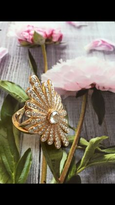Dessine-moi le Soleil  Rose gold and Diamonds Ring Sophie M. Paris collection Diamond Rings, Diamonds, Rose Gold, Brooch, Paris, Collection, Jewelry, Colored Gold, Drawing Drawing