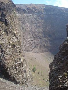 Mount Vesuvius Crater near Naples, Italy.