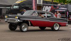 1958 Chevy Impala gasser   by scott597