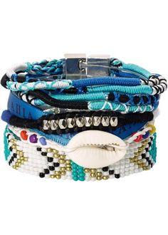 Armband Boho, bpc bonprix collection, türkis