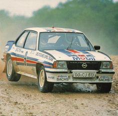 "erikwestrallying: "" Opel Ascona 400 rally car """