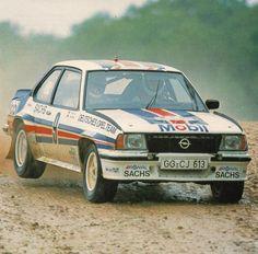 "erikwestrallying: "" Opel Ascona 400 rally car """