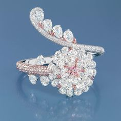 FORMSjewellery with a brilliant-cut pink and colourless diamonds