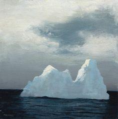 Iceberg paintings by jeremymiranda on Etsy