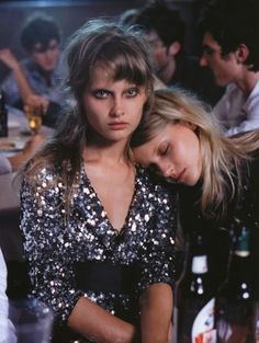 """""""All Night Long"""", photographed by Peter Lindbergh in Vogue Italia October 2001."""