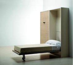 Hidden bed - Twin sellex wall bed - space saving solutions as featured on wall bed directory - studio wall beds