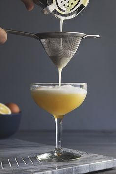 Bookmark this Maple Bacon Pisco Sour recipe to make your date the ultimate Valentine's Day cocktail.