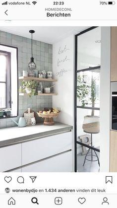 Interior Design Inspiration, Home Decor Inspiration, Home Interior Design, Kitchen Interior, Kitchen Design, Kitchen Decor, Trendy Home, Home And Deco, Living Room Modern