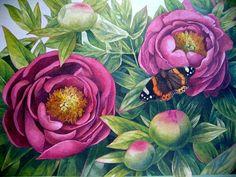 Marjolein Bastin | Watercolor art