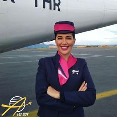【ギリシャ】スカイ・エクスプレス 客室乗務員 / Sky Express cabin crew【Greece】 Cabin Crew, Captain Hat, Hats, Europe, Fashion, Moda, Hat, La Mode, Fasion