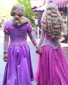 Rapunzel and Aurora