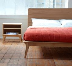 Valentine bed (Asia Kingsize) by Matthew Hilton| Case Furniture | casefurniture.co.uk