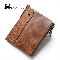 Check it on our site DERI CUZDAN Famous Brand Men Wallets Top Genuine Leather Male Clutch Purse 100% Cowhide Portfolio Mens Wallet Zipper Coin Pocket just only $14.56 with free shipping worldwide  #walletsformen Plese click on picture to see our special price for you