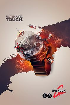 G-Shock Blow Out by Devin Schoeffler, via Behance