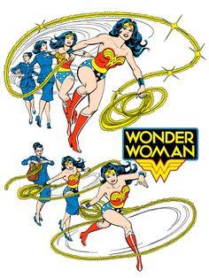 Wonder Woman by José Luis García-López from the 1982 DC Comics Style Guide