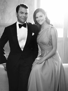 Prince Daniel and Crown Princess Victoria of Sweden. - the first waltz: a historical photoblog