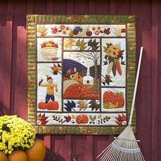 If you are a fan of hay rides and apple picking, this Fall Memories Quilt is for you !