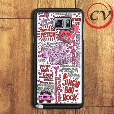 Mean Girls Collage Samsung Galaxy Note 5 Case