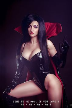 hotcosplaychicks:  Battletoads - Dark Queen cosplay by MrProton  Check out http://hotcosplaychicks.tumblr.com for more awesome cosplay