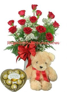 Send a #flowers  #chocolate  and #teddybear  for the special day together with your special someone her in the #Philippines  you can easy to do that. Kindly visit our website for more combos gifts. So you can choose your item for gifts to your recipient. http://regalomanila.com
