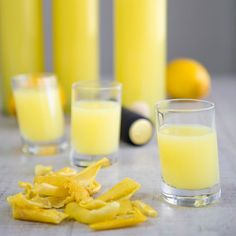 Homemade Limoncello is a must for any Italian festivity! This fresh after-dinner spirit made with lemon peels is more and more popular, and easy to prepare!