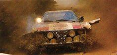 Audi Quattro rally car - Group B