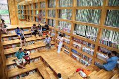 Liyuan Library (China). Li Xiaodong Atelier