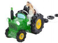Bruidspaar op Tractor