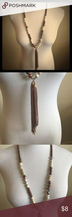 Beaded tassel necklace! Beaded Tassel Necklace! Jewelry Necklaces