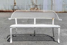 IRON OUTDOOR BENCH : Lot 422