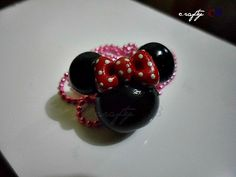 minnie pendant made of polymer clay.made by me :) Photo Editor, Polymer Clay, Pendant, Crafts, Design, Manualidades, Hang Tags, Pendants