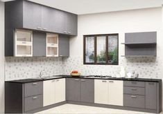 More ideas below: Small L Shaped Kitchen With Island Floor Plans Galley L Shaped Kitchen Layout Design Farmhouse L Shaped Kitchen With Peninsula Tiny L Shaped Kitchen Remodel Ideas L Shaped Kitchen With Pantry and Bar L Shaped Modular Kitchen, L Shaped Kitchen Designs, Kitchen Cupboard Designs, Kitchen Room Design, Modern Kitchen Cabinets, Interior Design Kitchen, Kitchen Furniture, Ikea Cabinets, Kitchen Ideas