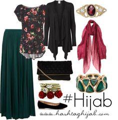 Hijab Fashion 2016/2017: Hashtag Hijab Outfit #24