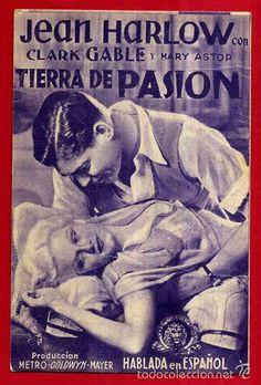TIERRA DE PASION , 1935 , TARJETA , ORIGINAL , AS2015 - Foto 1