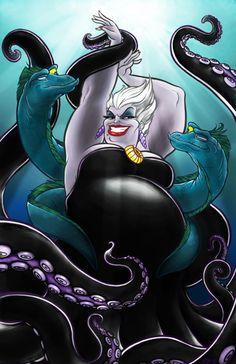 Ursula...for my disney villain half sleeve