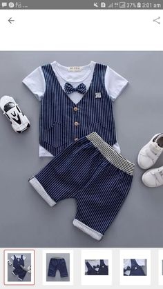 Baby Boy Dress, Baby Girl Dresses, Baby Boy Outfits, Kids Outfits, Little Boy Fashion, Kids Fashion Boy, Toddler Fashion, Baby Dress Patterns, Baby Clothes Patterns