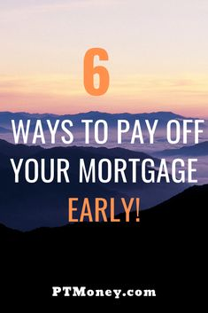 You SHOULD Payoff Your Mortgage Early Strategies to Use 6 Ways to pay off your mortgage early Refinance Mortgage, Mortgage Tips, Mortgage Payment, Mortgage Rates, Home Equity Line, Thing 1, Tax Refund, Financial Success, Debt Free