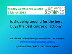 Want to know the answer? www.moneygemstones.com